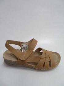 Sandały damskie na koturnie (36-42/12P)