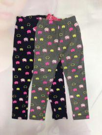Spodnie leggingsy dziewczynka (3-7/10szt)