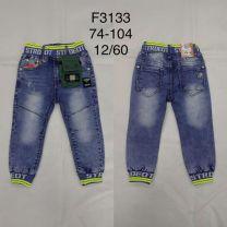 Spodnie jeansowe dzieci (74-104/12szt)