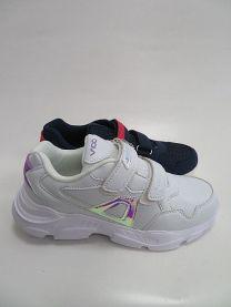 Buty sportowe na rzepy chłopięce i dziewczynka (31-36/16P)