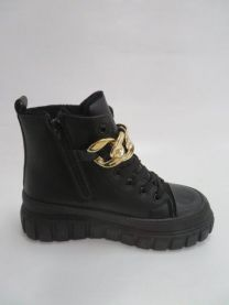Ocieplane buty sportowe wiązane (36-41/12P)