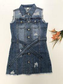 Kamizelka jeansowa damska (XS-XL/12szt)