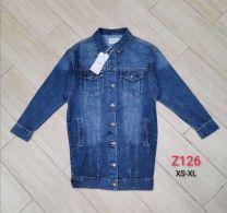 Kurtka jeansowa damska (2XL-6XL/12szt)