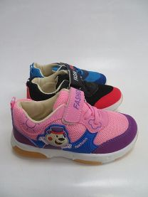 Buty sportowe na rzepy chłopięce i dziewczynka (25-30/18P)