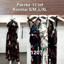 Sukienka z chiński (S-XL/12szt)