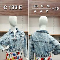 Kurtka jeansowa damska (XS-M/10szt)