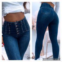 Spodnie Jeansowe damskie (34-42/10szt)