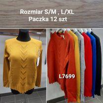Swetry damskie (S/M-L/XL/14szt)