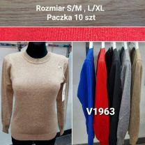 Swetry damskie (S/M-L/XL/10szt)