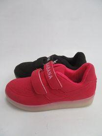 Buty sportowe na rzepy chłopięce i dziewczynka (31-36/12P)