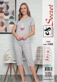 Piżama damska Turecki (M-2XL/12kompletów)