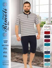 Piżama męska (3XL-5XL/16kompletów)