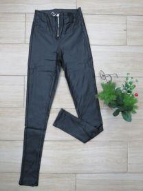 Spodnie skórzane ocieplane damskie (XS-XL/12szt)