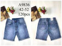 Spodenki jeansowe damska (42-52/12SZT)