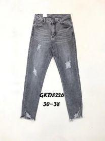 Spodnie Jeansowe Damskie (30-38/12szt)