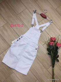 Ogrodniczki jeansowe damska  (34-42/10 szt )
