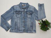 Kurtka jeansowa damska (M-3XL/10szt)