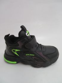OCIEPLANE buty sportowe na rzepy chłopięce (32-37/12p)