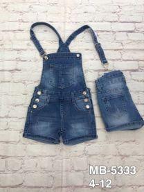 Ogrodniczki jeansowe damska (4-12/10szt)