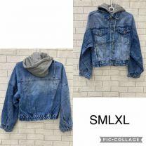 Kurtka jeansowa damska (S-XL/6szt)