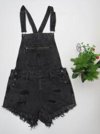 Ogrodniczki jeansowe damska (XS-XL/12szt)