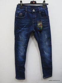 Spodnie jeansowe dzieci ocieplane (4-12/10szt)