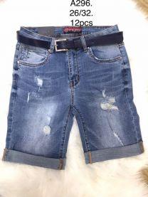 Spodenki jeansowe damska (26-32/12SZT)