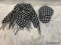 Komplety chusta + czapka (uniwersalny/12szt)