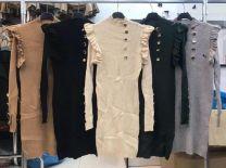 Sukienki swetry włoskie (uniwersalny/6szt)