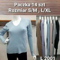 Swetry z chiński (S/M-L/XL/14szt)