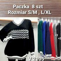 Swetry z chiński (S/M-L/XL/8szt)