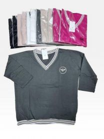 Bluzy bez kaptura damskie (S/M-L/XL/12szt)