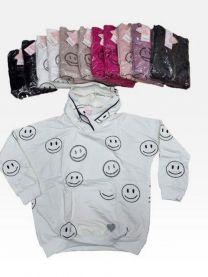Bluzy z kapturem damskie (uniwersalny/12szt)