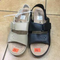 Sandały damskie na koturnie (36-41/18 P)