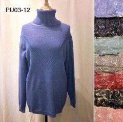 Swetry z chiński (XL-3XL/12szt)