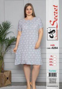 Koszula nocna Damskie (XL-4XL/12szt)