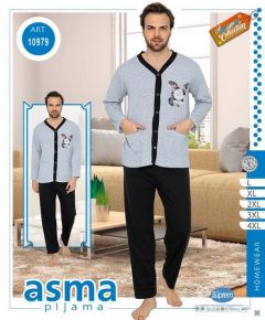 Piżama męska (L-4XL/15kompletów)